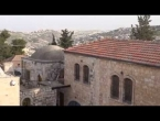Part 1 of B´nai B´rith Live Tour at Mount Zion,  Jerusalem
